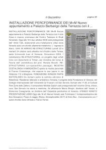 16.10.2017 IL GAZZETTINO ED.VENEZIA_FONDAZIONE VENEZIA PARTE WATERLINES